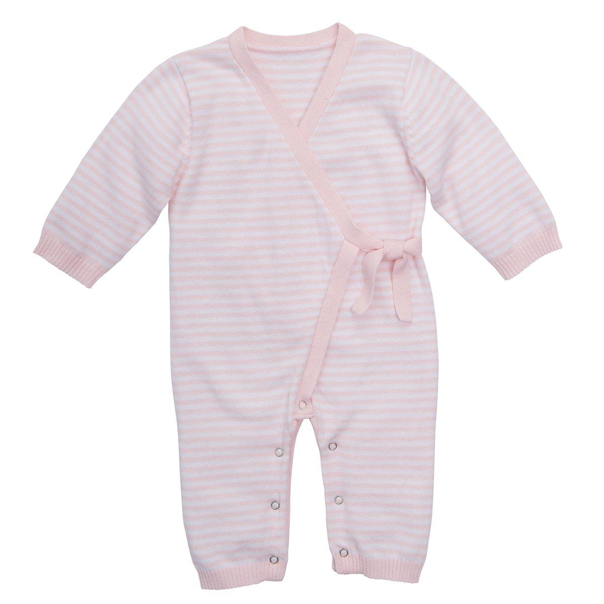 26c8452b2261 Amazon.com  Elegant Baby Unisex Stripe Knit Jumpsuit