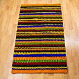 NOVICA Multicolor Modern Wool Area Rug