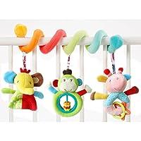 Newin étoile bébé spirale Lit Poussette Toys spirale d'activité Jouets à suspendre pour bébé chariot Assise Landau jouet avec clochette éducatif Jouets en peluche 1pcs