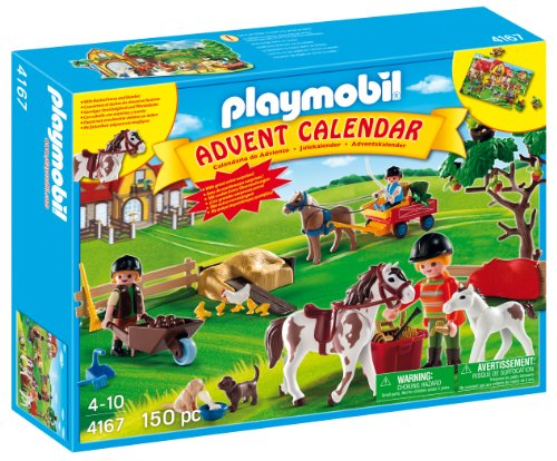 PLAYMOBIL® Advent Calendar Pony Farm with Great Additional Surprises