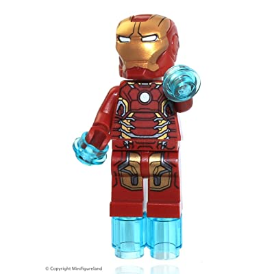 Lego Marvel Super Heroes Iron Man Mark 43 Minifigure 2015: Toys & Games