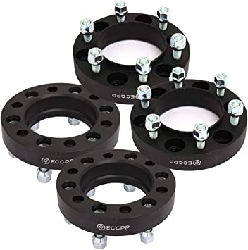 Amazon.com: ECCPP 4x 6 LUG Hub Centric Wheel Spacers 1.25