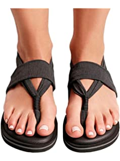Sandalen Joy Colors Stone Black 38 Schwarz