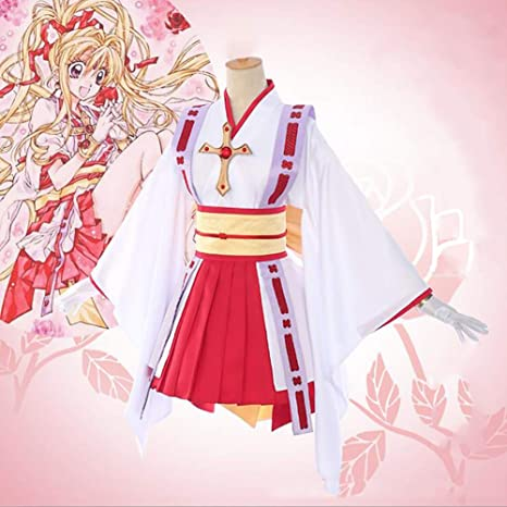 ULLAA Anime Kamikaze Kaitou Jeanne Cosplay Kimono Bata De Baño ...