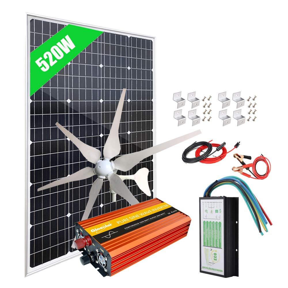 Eco Worthy Solar Power Kit 520 Watts
