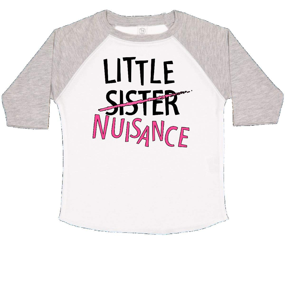 inktastic Little Sister-Nuisance Toddler T-Shirt