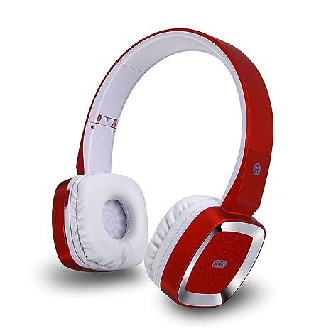 TYWZF Auriculares Bluetooth, Auriculares Inalámbricos Bluetooth Head-Mounted 4.0 Ruido A Prueba De Agua