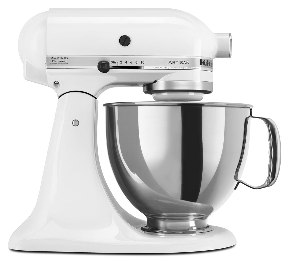 KitchenAid RRK150WH5 Qt. Artisan Series - White (Certified Refurbished)