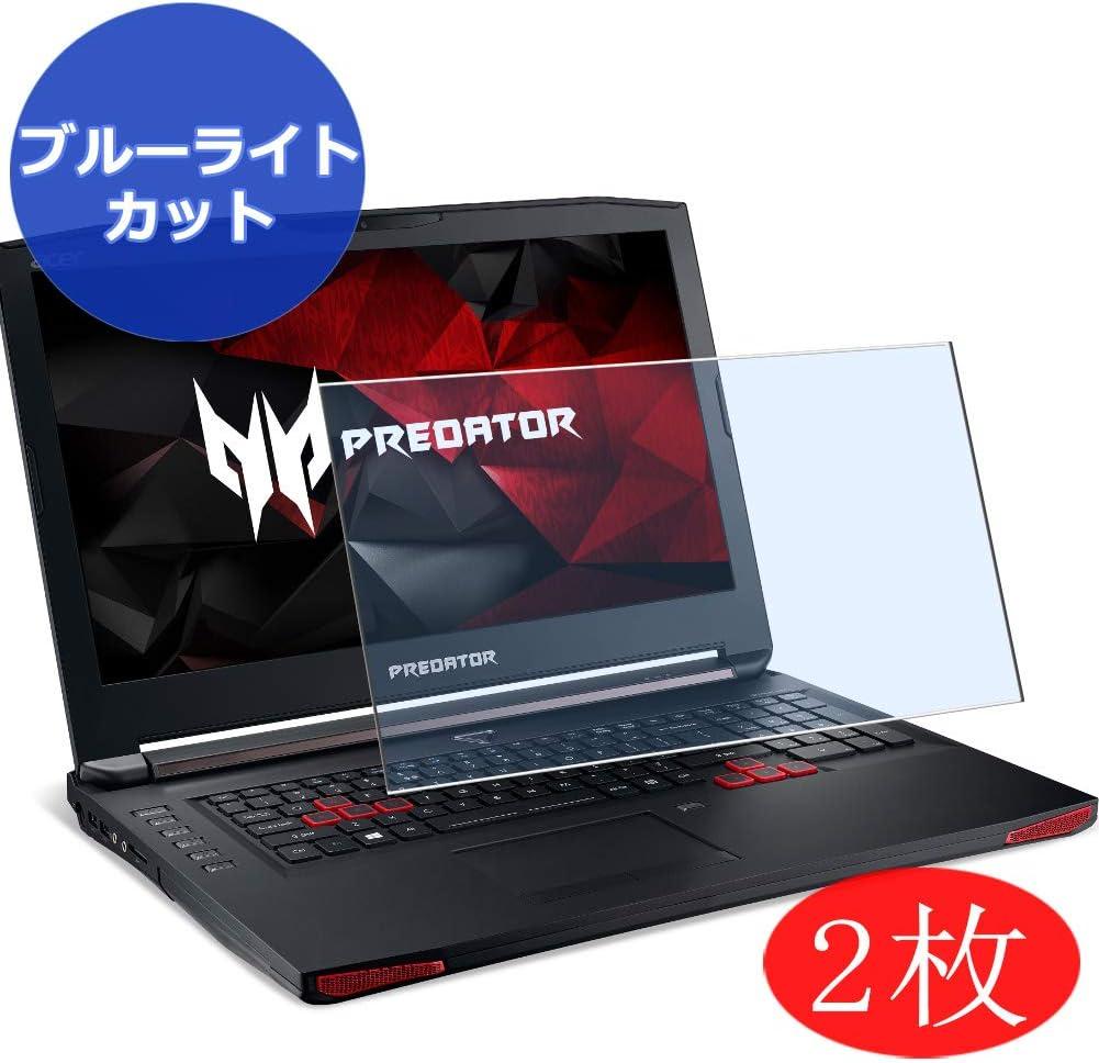 【2 Pack】 Synvy Anti Blue Light Screen Protector for Acer Predator 17 G9-791 / G9-792 / G9-793 17.3