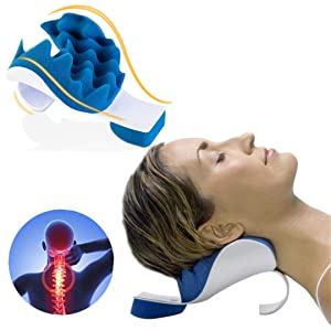 Zabrina Chiropractic Pillow, Cervical Neck Pillow, Neck Massage Cervical Pillow, Chiropractic Pillow for Neck Pain Relief, Neck Support Pillow for Neck and Shoulder Pain Relief Support