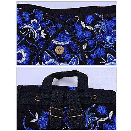 dos taille pour multicolore à Zhaoke unique porté femme au main Sac Multicolore x64Yqw7XT
