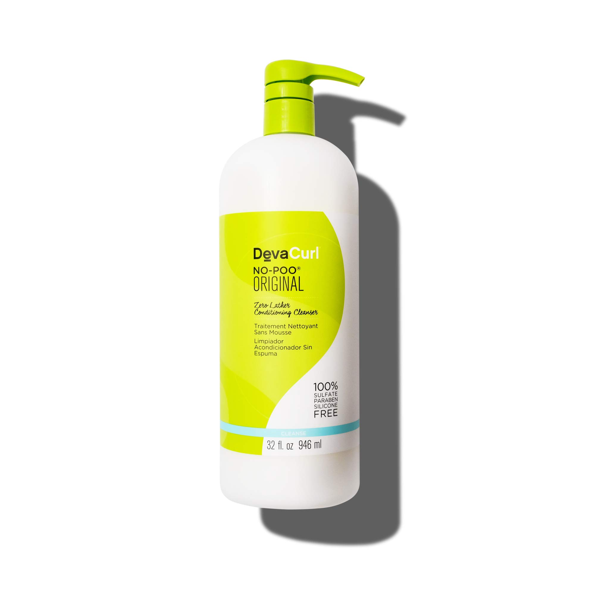 Devacurl No-Poo Original Cleanser; 32oz by DevaCurl