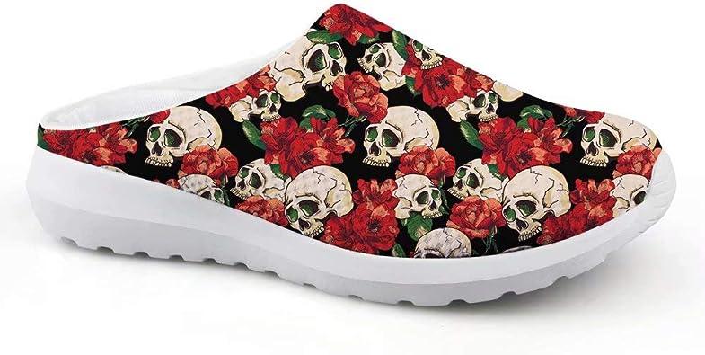 chaussures tête de mort homme femme 8
