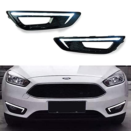 amazon com ijdmtoy exact fit 2015 up ford focus high power osramijdmtoy exact fit 2015 up ford focus high power osram continous illuminating led daytime running