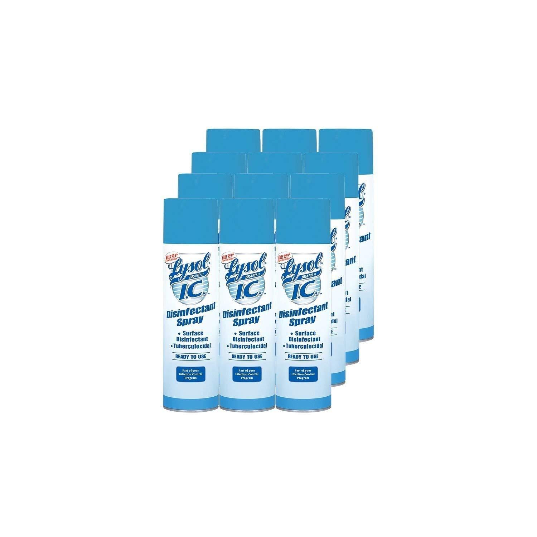 Lysol I.C. Disinfectant Spray - Original Scent - 19 oz. - 12 pk. by Lysol I.C. Disinfectant Spray - Original Scent (19oz.,12pk.)