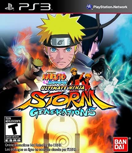 Amazon.com: Naruto Ultimate Ninja Storm Generations: Video Games