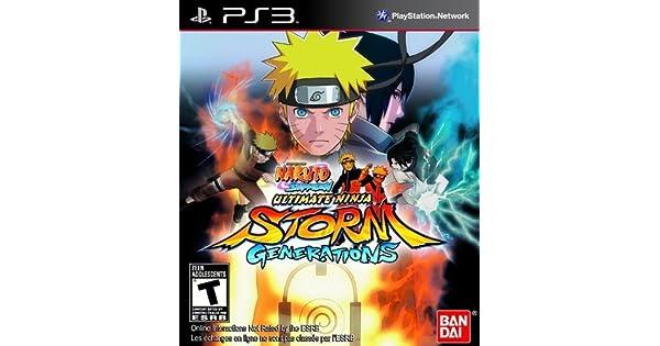 Amazon.com: Naruto Ultimate Ninja Storm Generations: Video Games