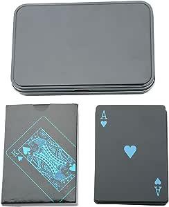 Juegos de Cartas Impermeable PVC Magic Poker Juegos de Naipes ...