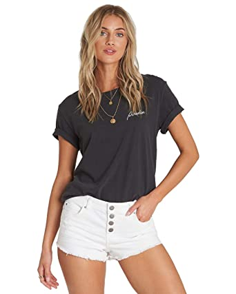 6aa721b6 Amazon.com: Billabong Women's Buttoned Up Denim Short: Clothing