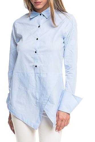 Camisa Maison Scotch Angled Azul
