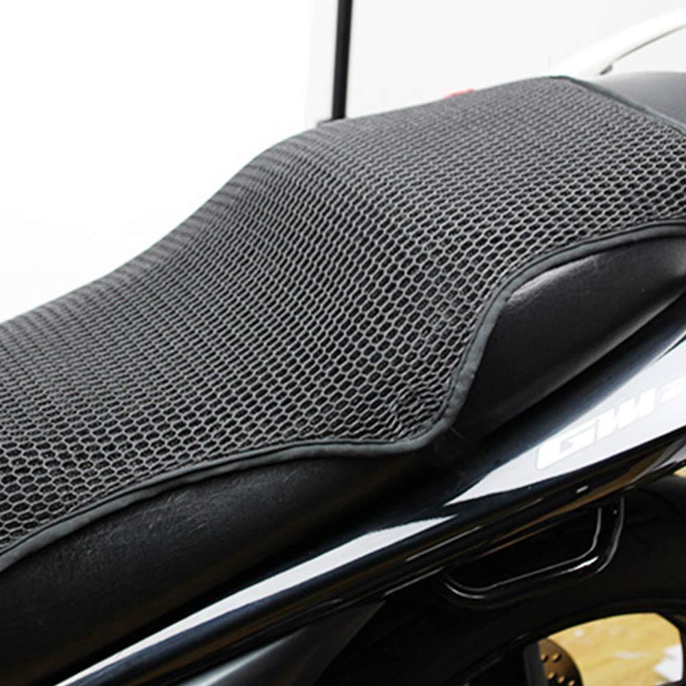 coussin disolation thermique Housse de selle de moto coussin anti-d/érapant 3D en maille respirante