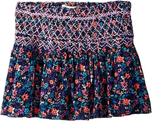 (Peek… Baby Girl's Pixie Skirt (Toddler/Little Kids/Big Kids) Navy)