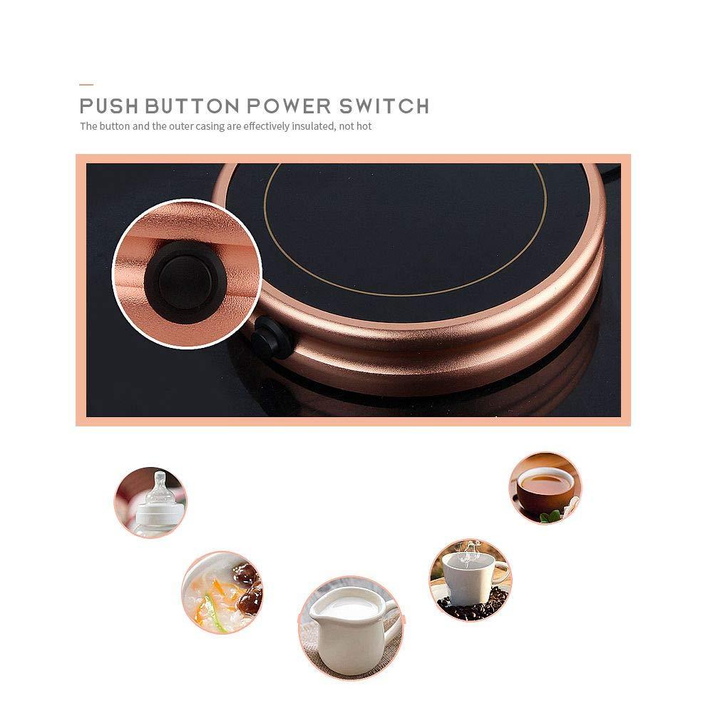 Mug Warmer, Desktop Heated Coffee & Tea - Candle & Wax Warmer by ESCAOR (Image #2)