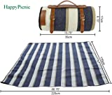 """HappyPicnic Extra Large Picnic Blanket Rug,87""""X"""