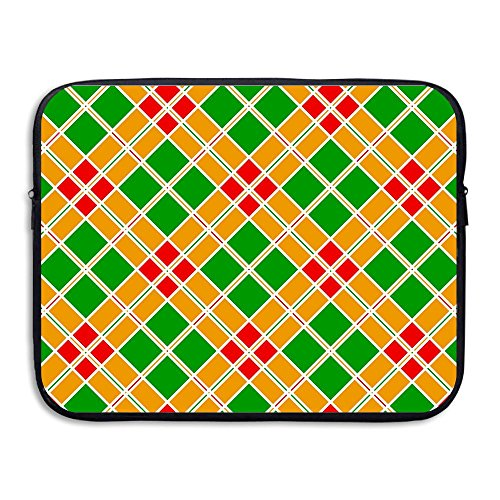 Geometric Clipart - Homlife Laptop Sleeve Bag Colorful Geometric Pattern Clipart 13/15 Inch Briefcase Sleeve Bags Cover Notebook Case Waterproof Portable Messenger Bags
