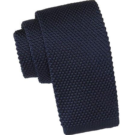 WAVENI Corbata de moda para hombre Corbata de punto de lana ...