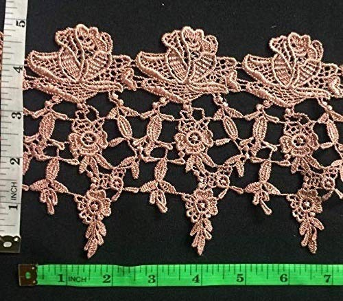 Lace Trim Classic Rose Garden Design, 5