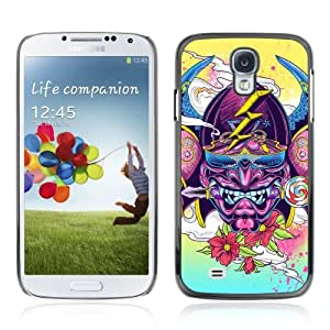 Designer Depo Hard Protection Case for Samsung Galaxy S4 / Abstract Japanese Samurai