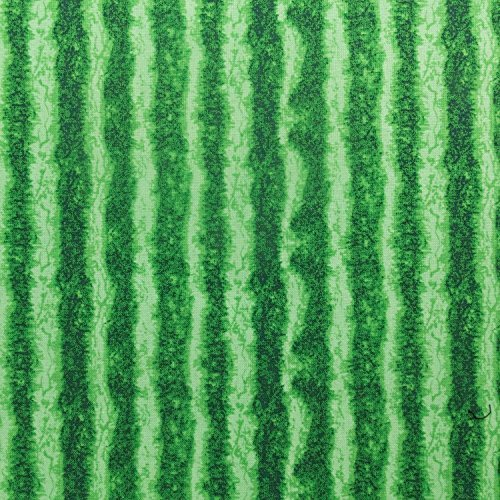 Green Watermelon Rind Print on 100% Cotton Fabric by Designer Timeless Treasures 44