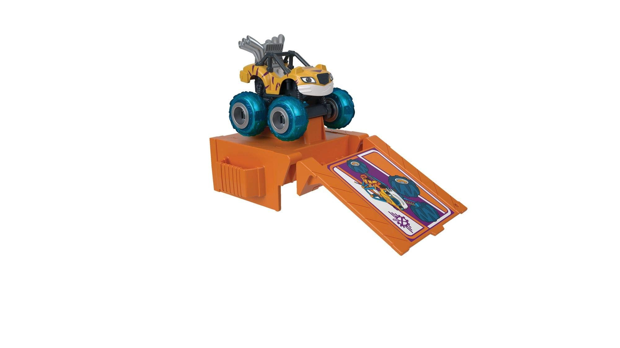 Fisher-Price Nickelodeon Blaze & the Monster Machines Tune-Up Tires, Stripes by Fisher-Price (Image #5)