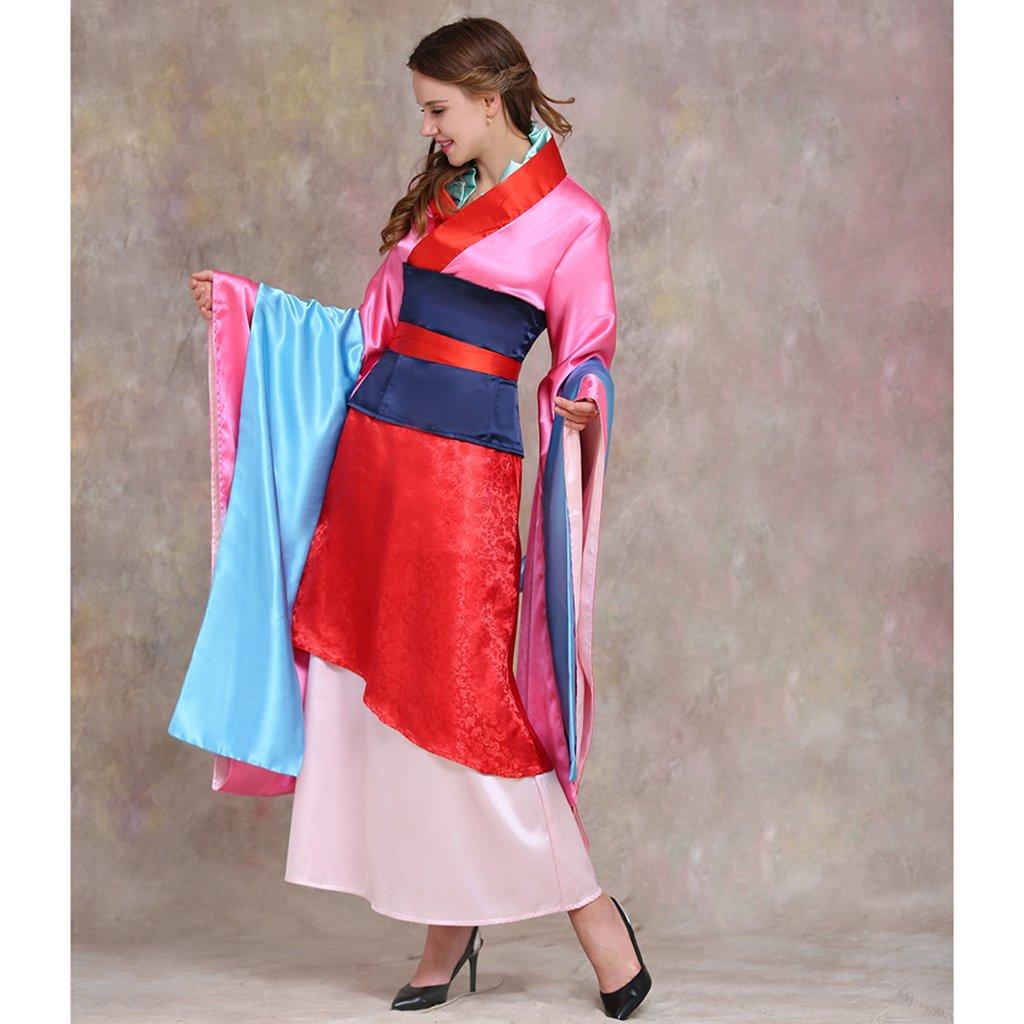 f37a4c4f3a33e Amazon.com: CosplayDiy Women's Chinese Hua Mulan Costume Dress Set Cosplay:  Clothing