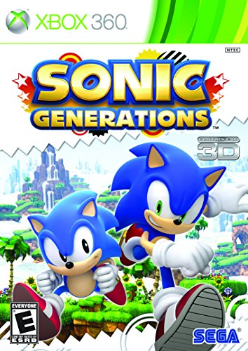 Sonic Generations - Xbox 360 - Outlet Woodbury Mall