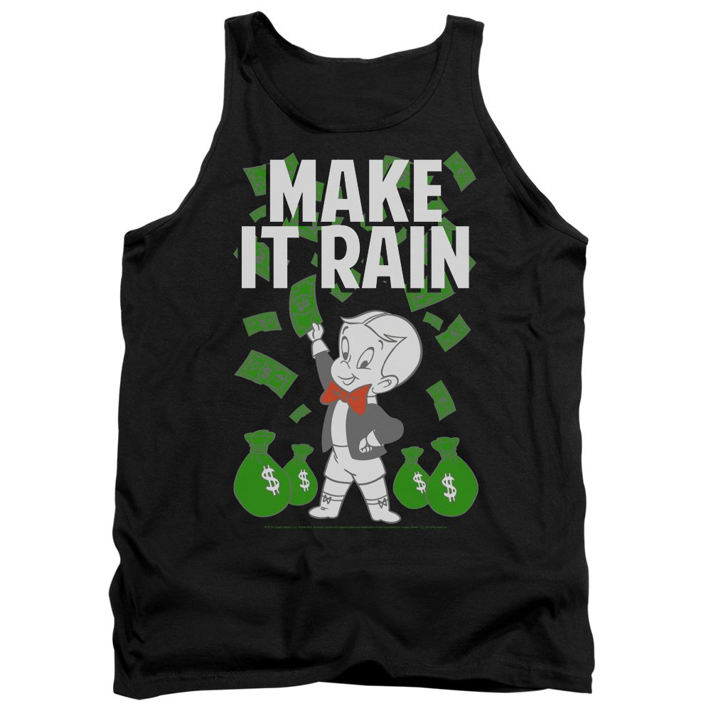 Mens Make It Rain Tank Top Richie Rich