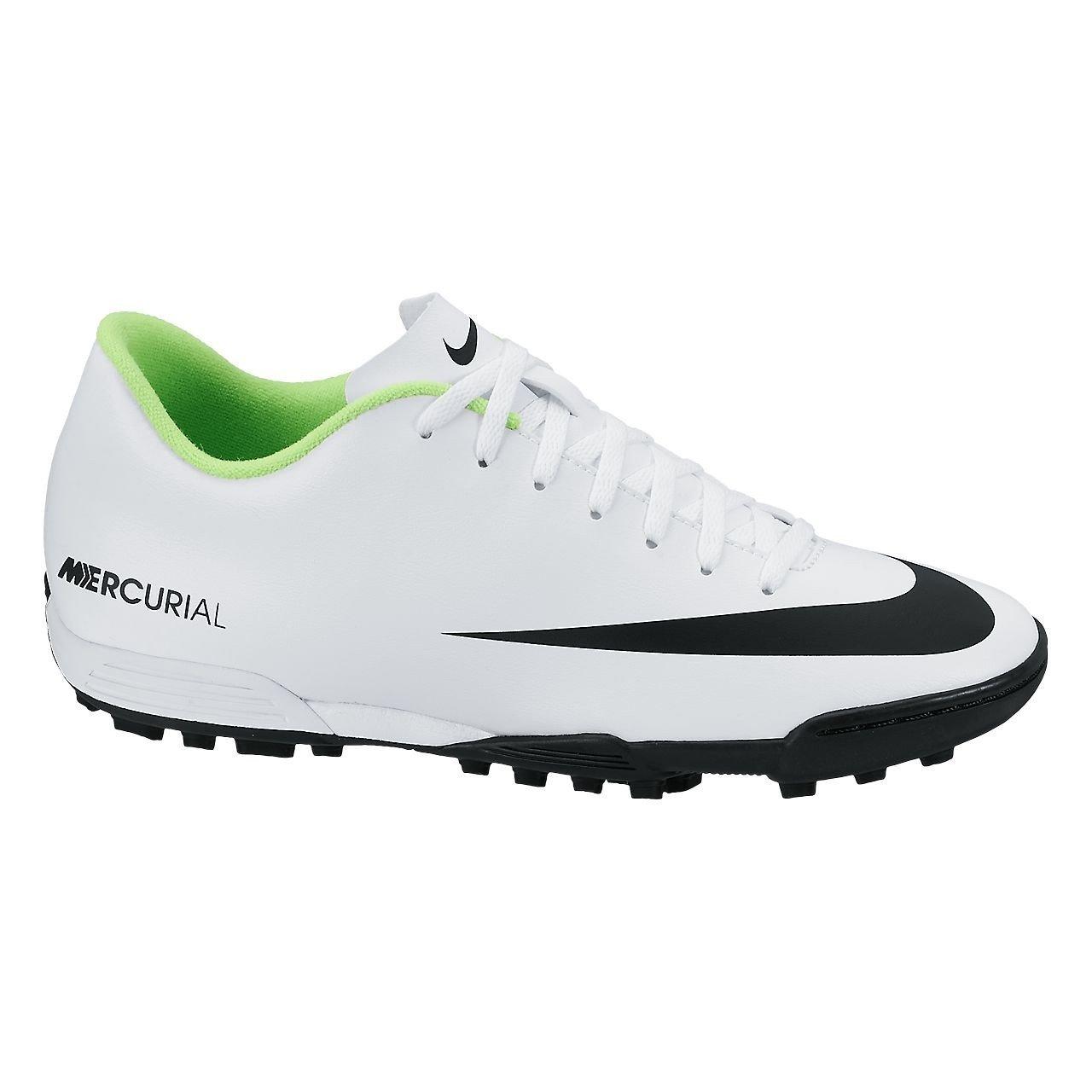 Nike Schuhe Herren Mercurial vortex TF Weiß schwarz-electric green