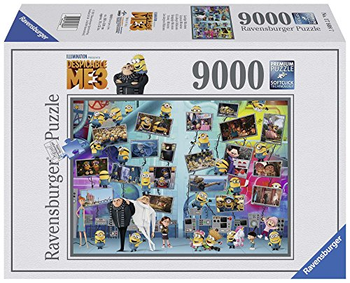 RAVENSBURGER Jigsaw Puzzle Despicable ME 3 Funny Minions 9000 PCS #17808]()