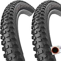 2x Continental Reifen Mountain King Perform 60-584 falt schwarz