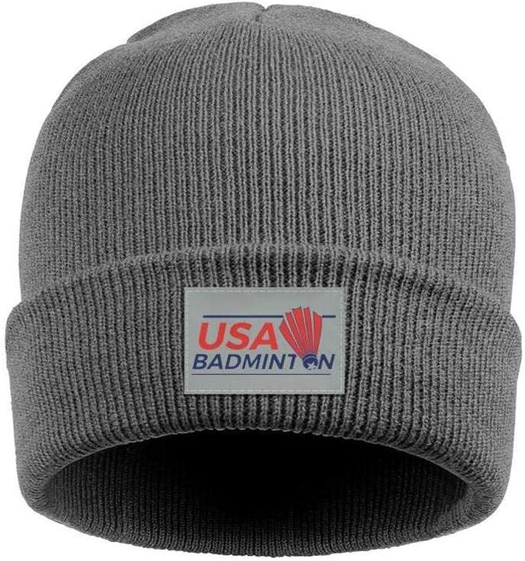 Winter Hats Slouchy Beanie DAS55 Mens Beanie Hat USA-Track-/&-Field-Logo-USATF