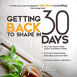 Getting Back to Shape in 30 Days