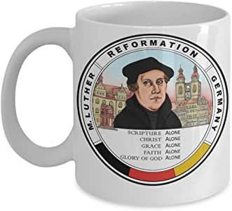 Martin Luther 500 Years Reformation Coffee Mug