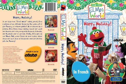 Sesame Street Elmo S World Happy Holidays French
