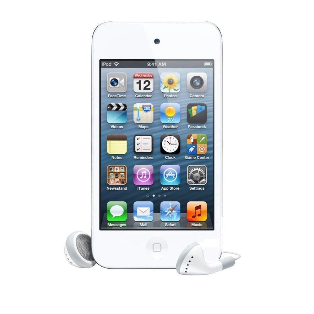 Good For Apple iPod touch 8GB (4th Generation) +Screen Protector (White)