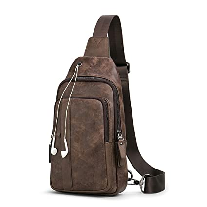 c6ec0bcc6aa5 Image Unavailable. Image not available for. Color  XY CF Men s chest bag  shoulder ...