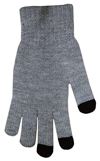 Boss Tech Products Knit Touchscreen Gloves with Conductive Fingertips for  Use with All Touchscreen Electronic Devices a2325df9611