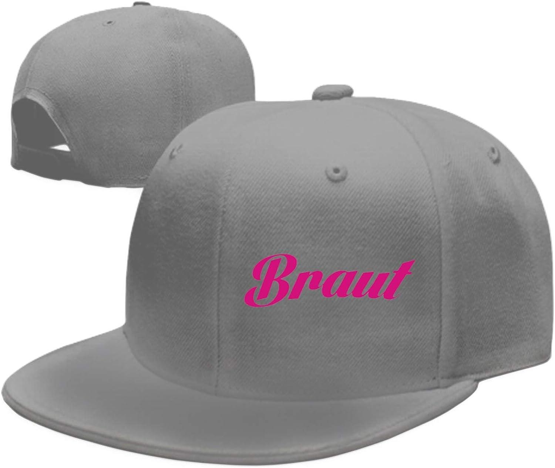 Braut Junggesellinnenabschied JGA Printed Sandwich Baseball Cap for Unisex Adjustable Hat