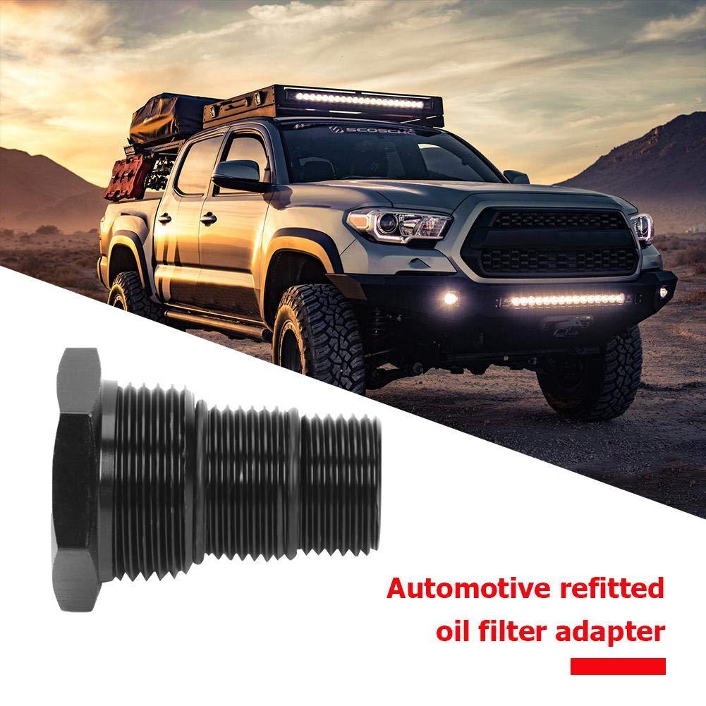 4NPT Adattatore per filtro olio filettato automobilistico Ahomi da 5//8-24 a 3//4-16 13//16-16 3
