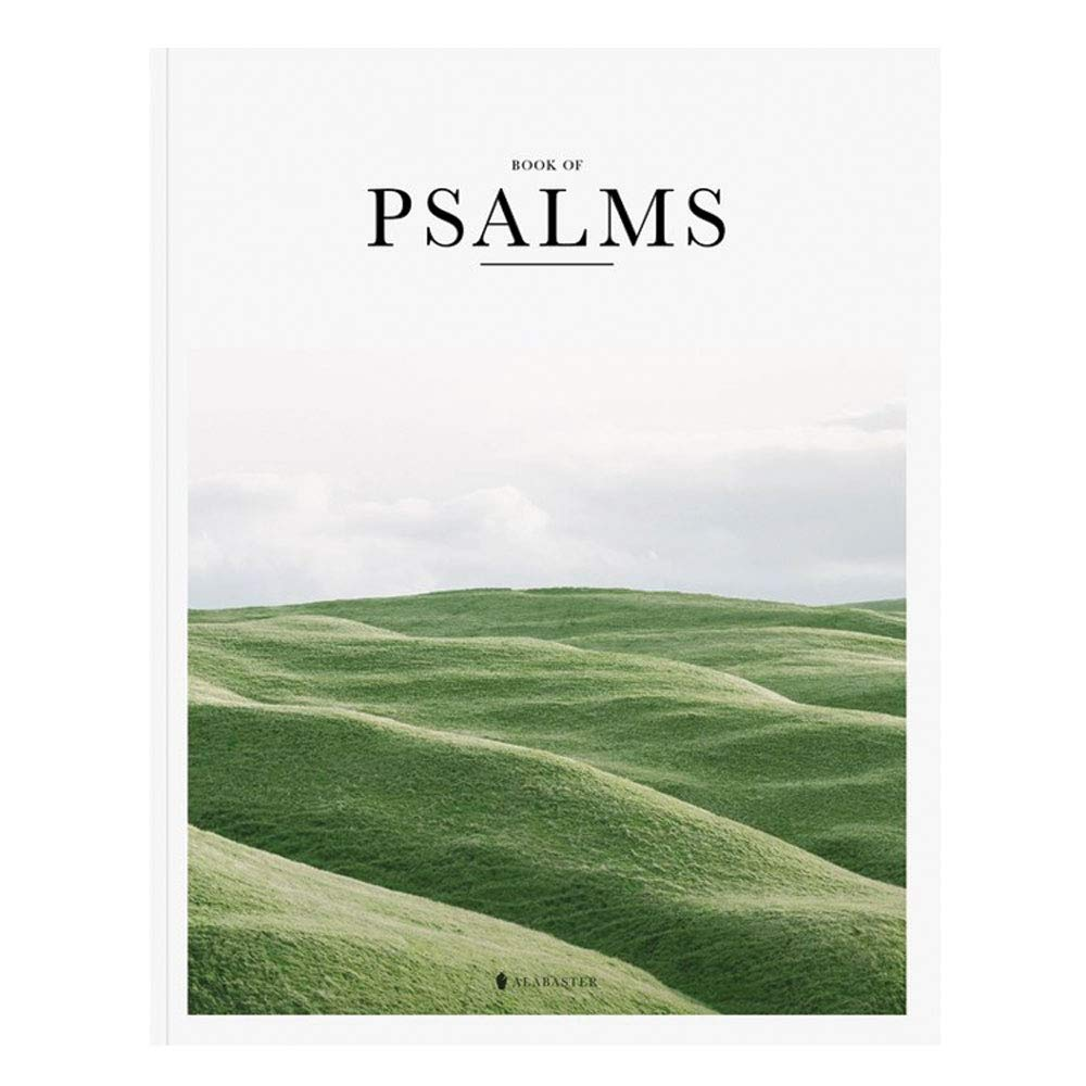 All 150 Psalms in one 232 page book.